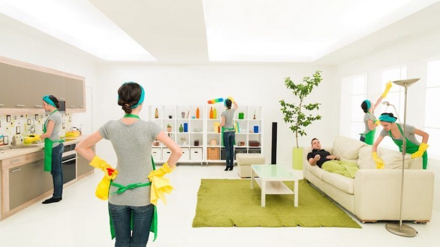 Maid Service House Cleaning as a Lifestyle Change
