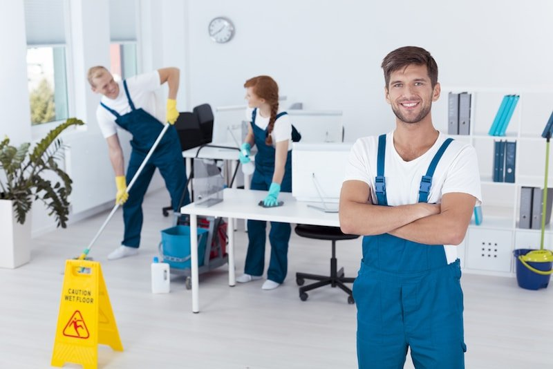 Commercial Cleaning in Naperville IL min
