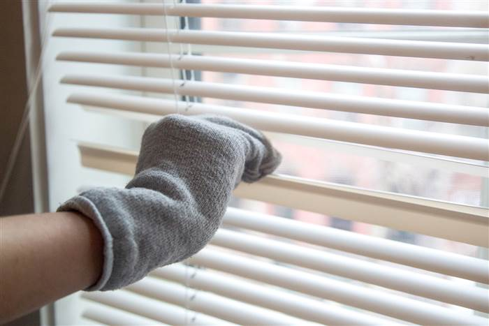Cleaning Window Coverings