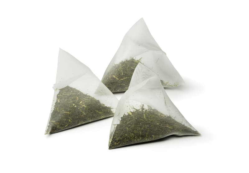 peppermint tea bags for a tooth ache
