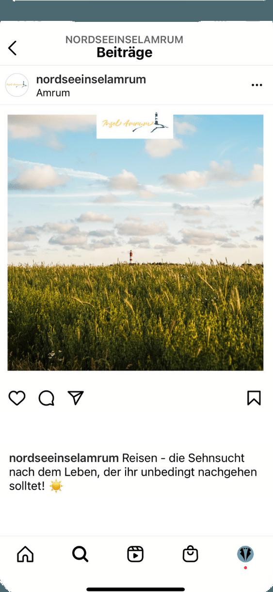 Instagram Feed Slider Mockup