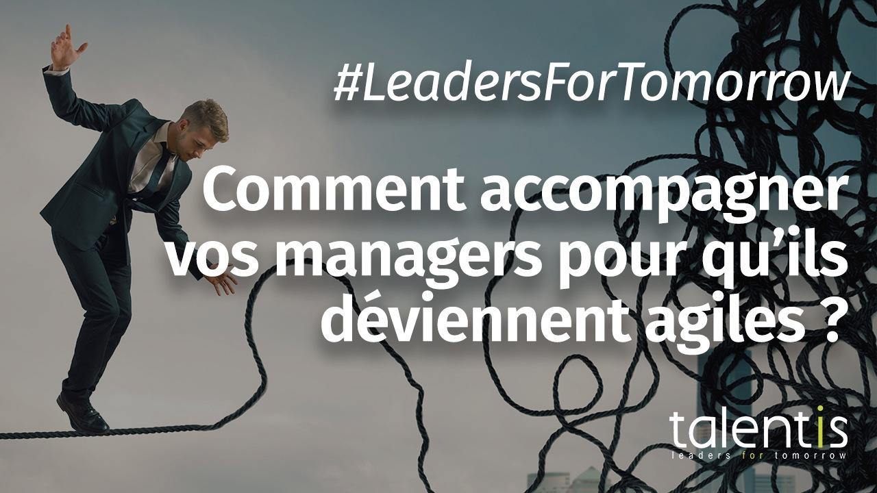 Comment accompagner vos managers pour qu'ils deviennent agiles ?