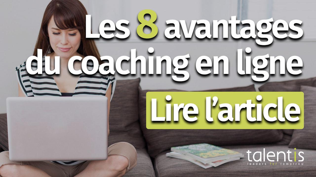 """Coaching en ligne : 8 avantages par rapport au coaching """"classique"""""""