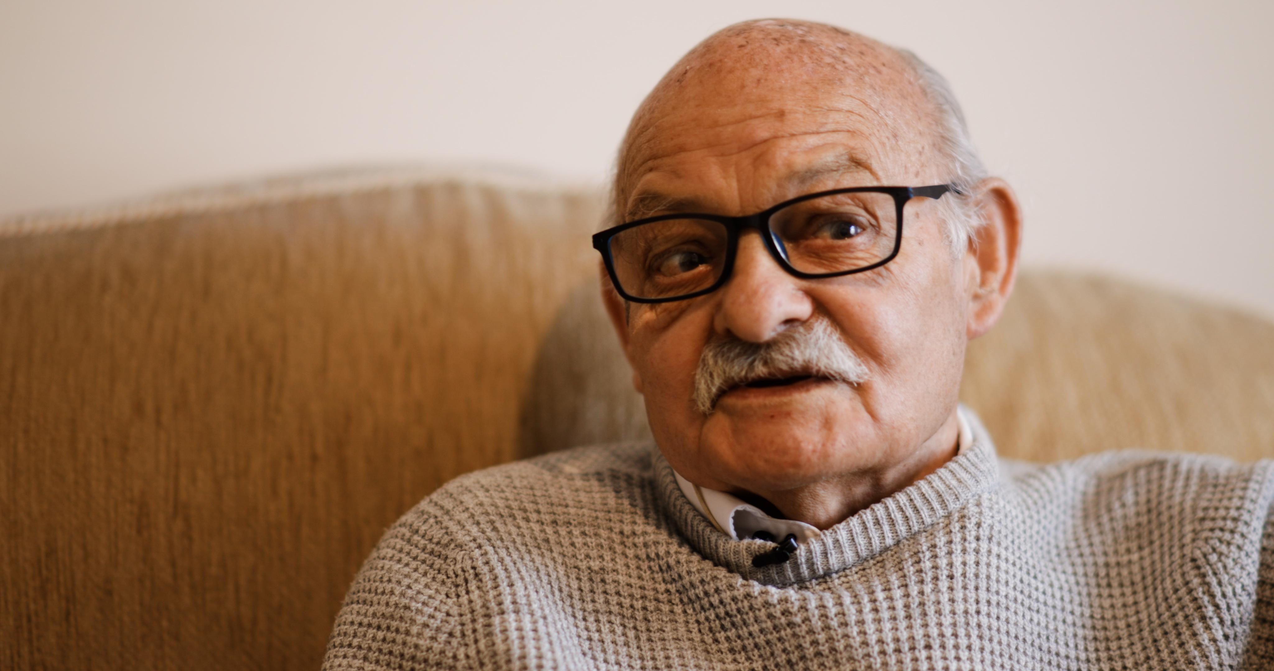 Len, Age UK Oxfordshire client