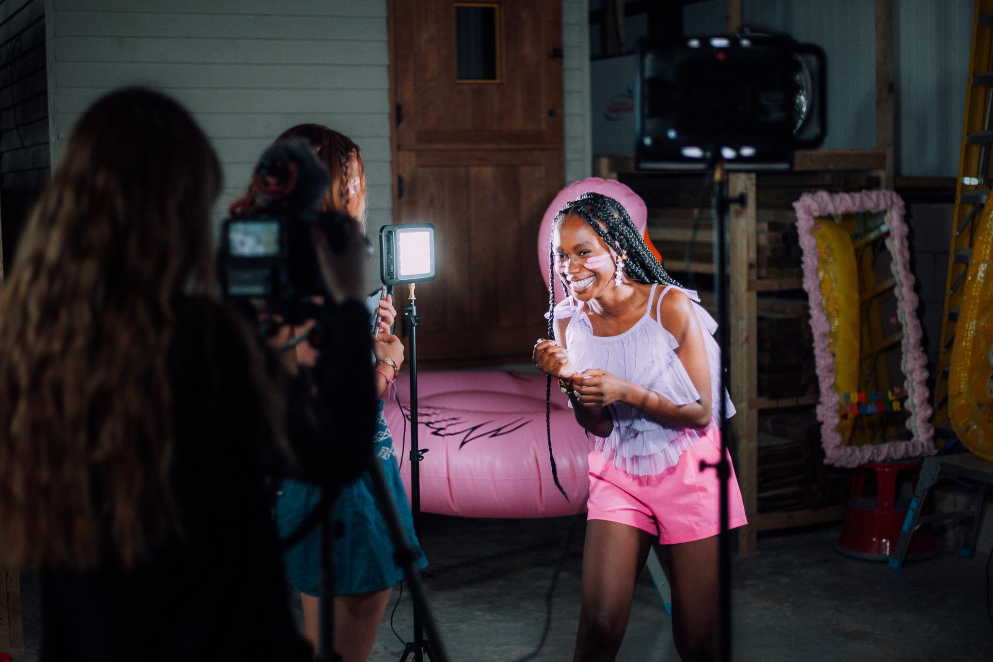 The Zena brand photo shoot, Stone Barrell