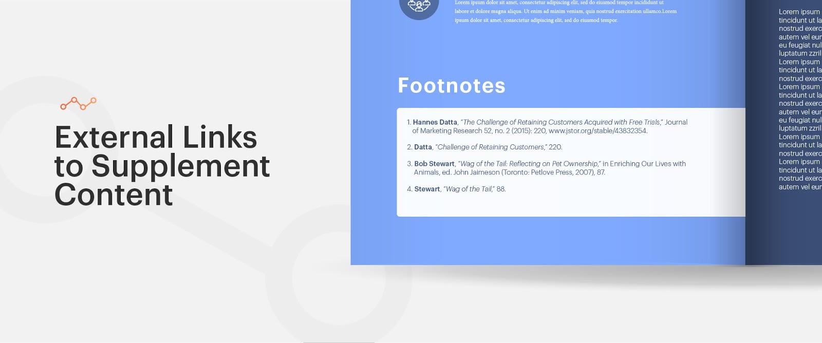 External Links to Supplement Content