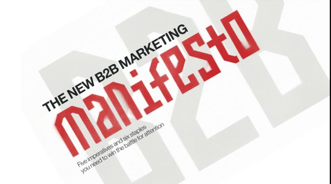 b2b manifesto message
