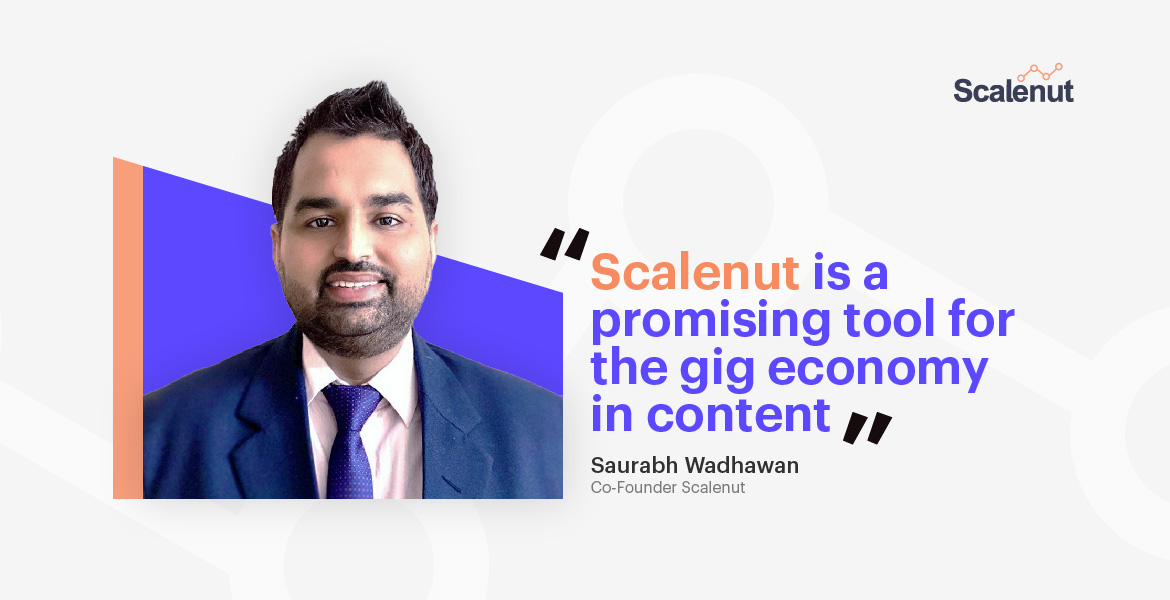 Scalenut is a promising tool for the gig economy in content