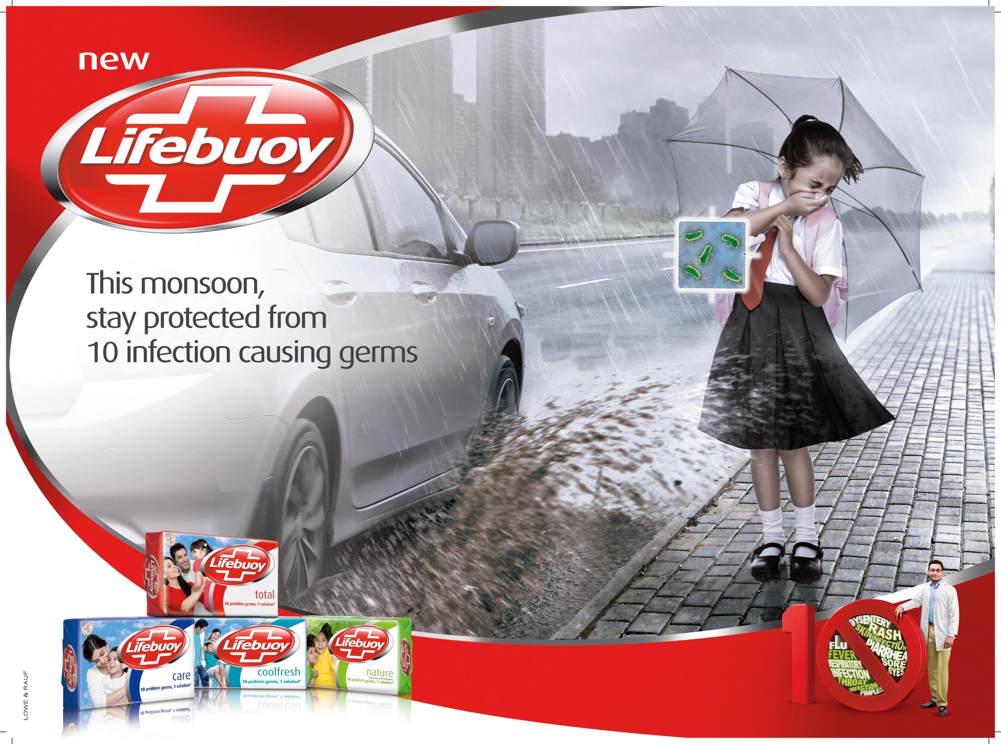 Visual storytelling marketing by Lifebuoy