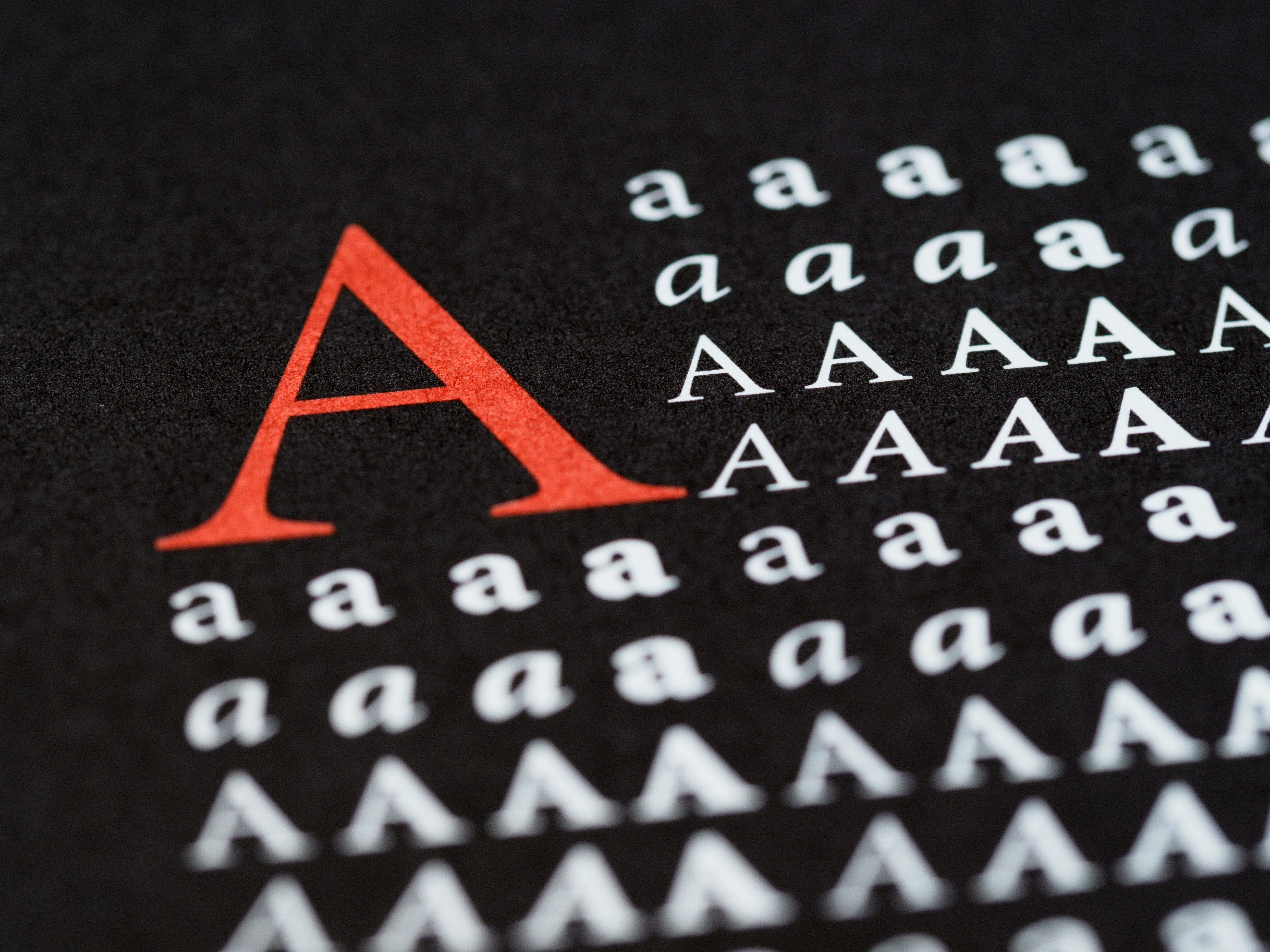 Use typefaces judiciously