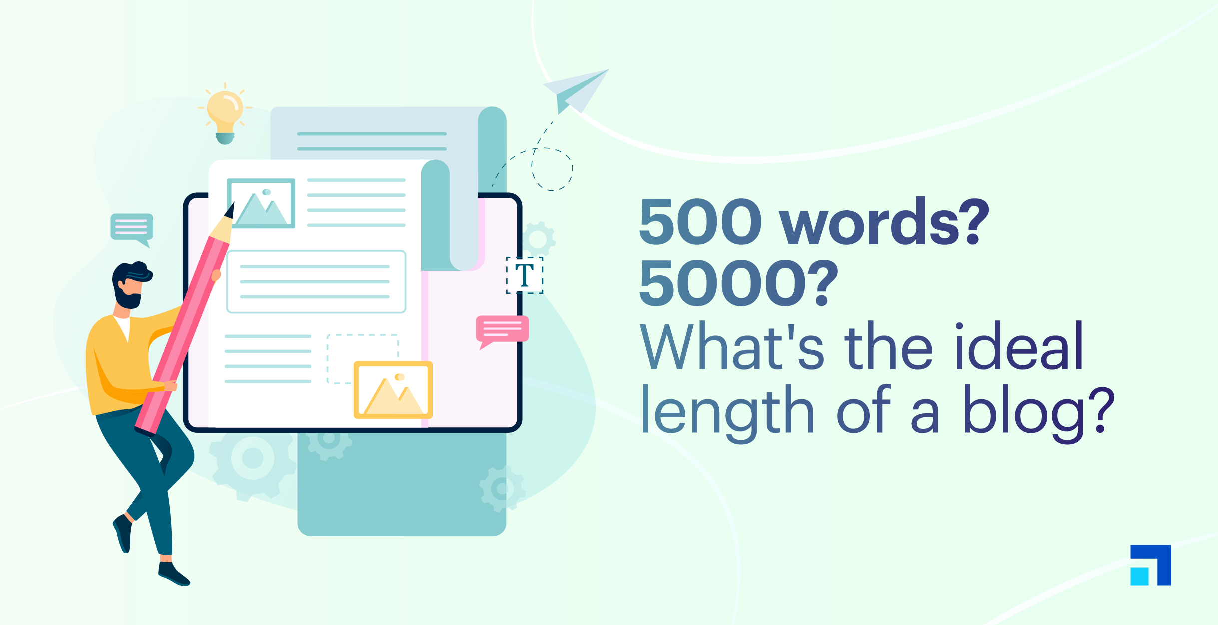 How long should a blog post be?