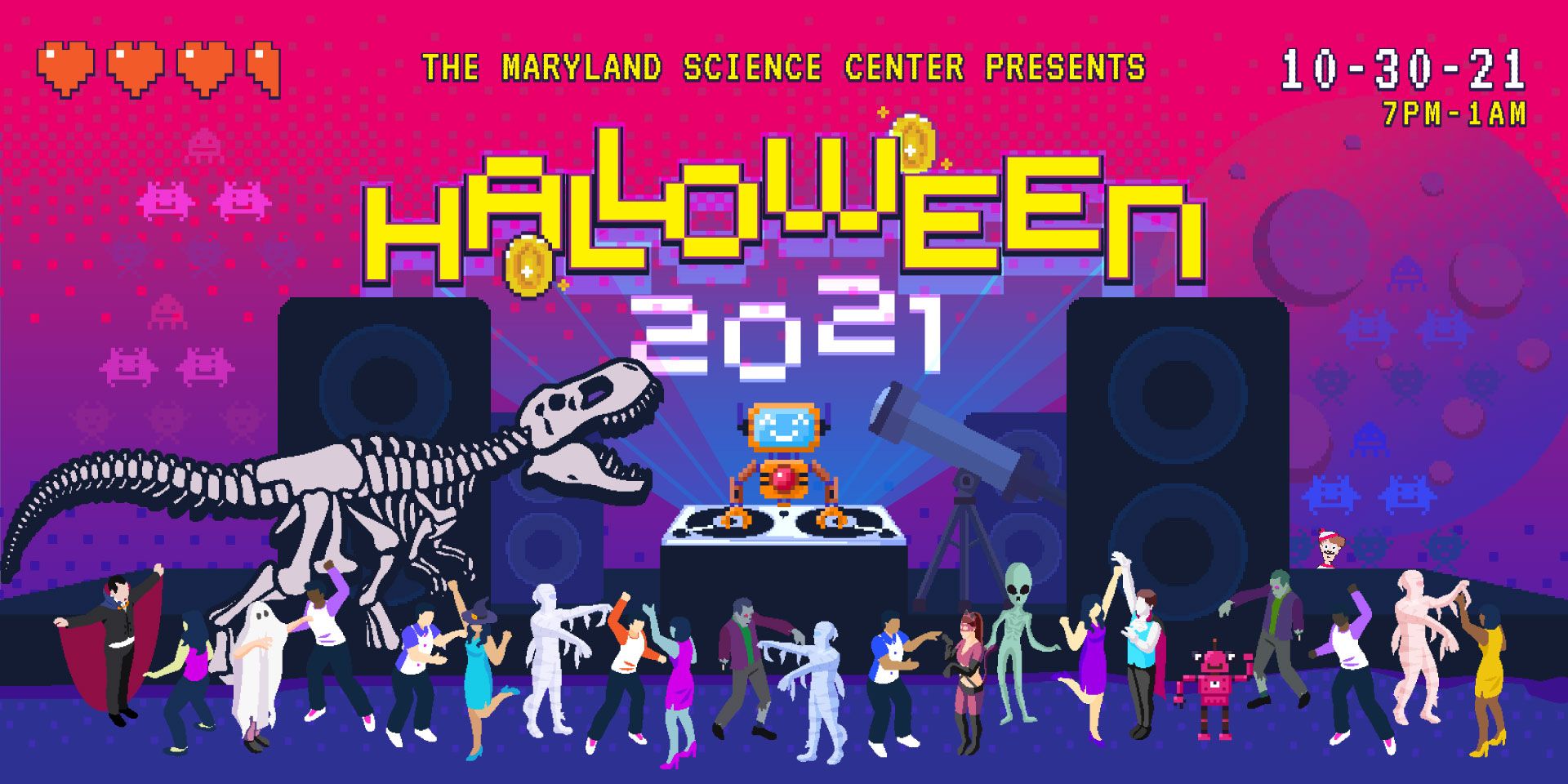 The Maryland Science Center Presents Halloween 2021