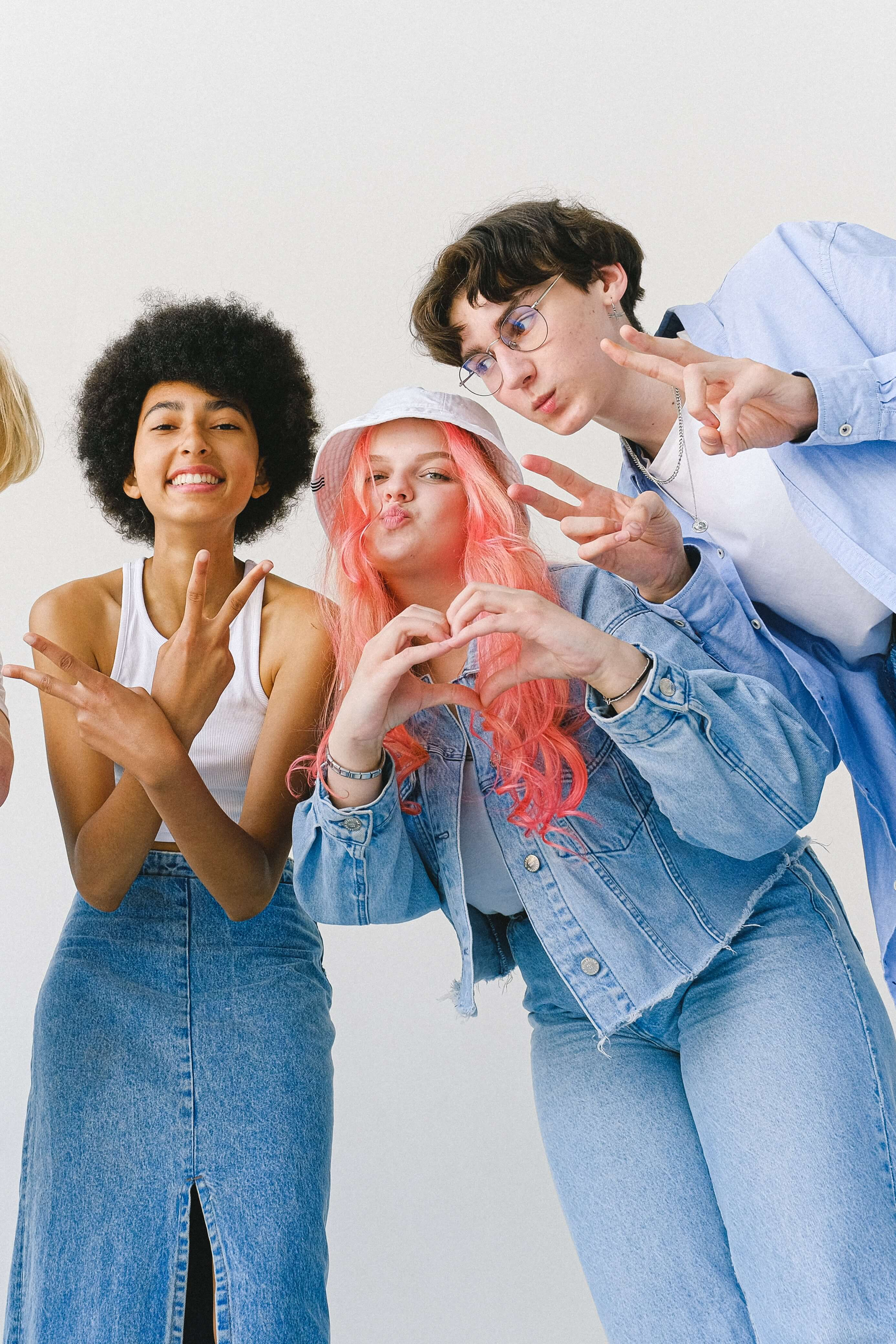 Group of teens together