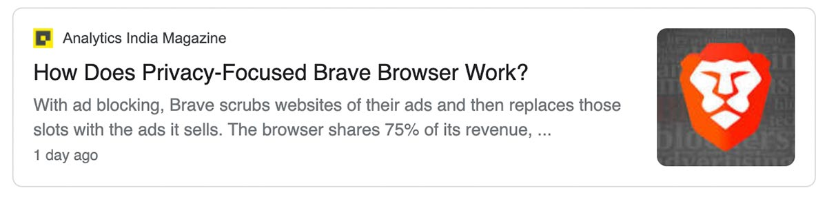 Article: how does privacy-focused Brave Browser work?