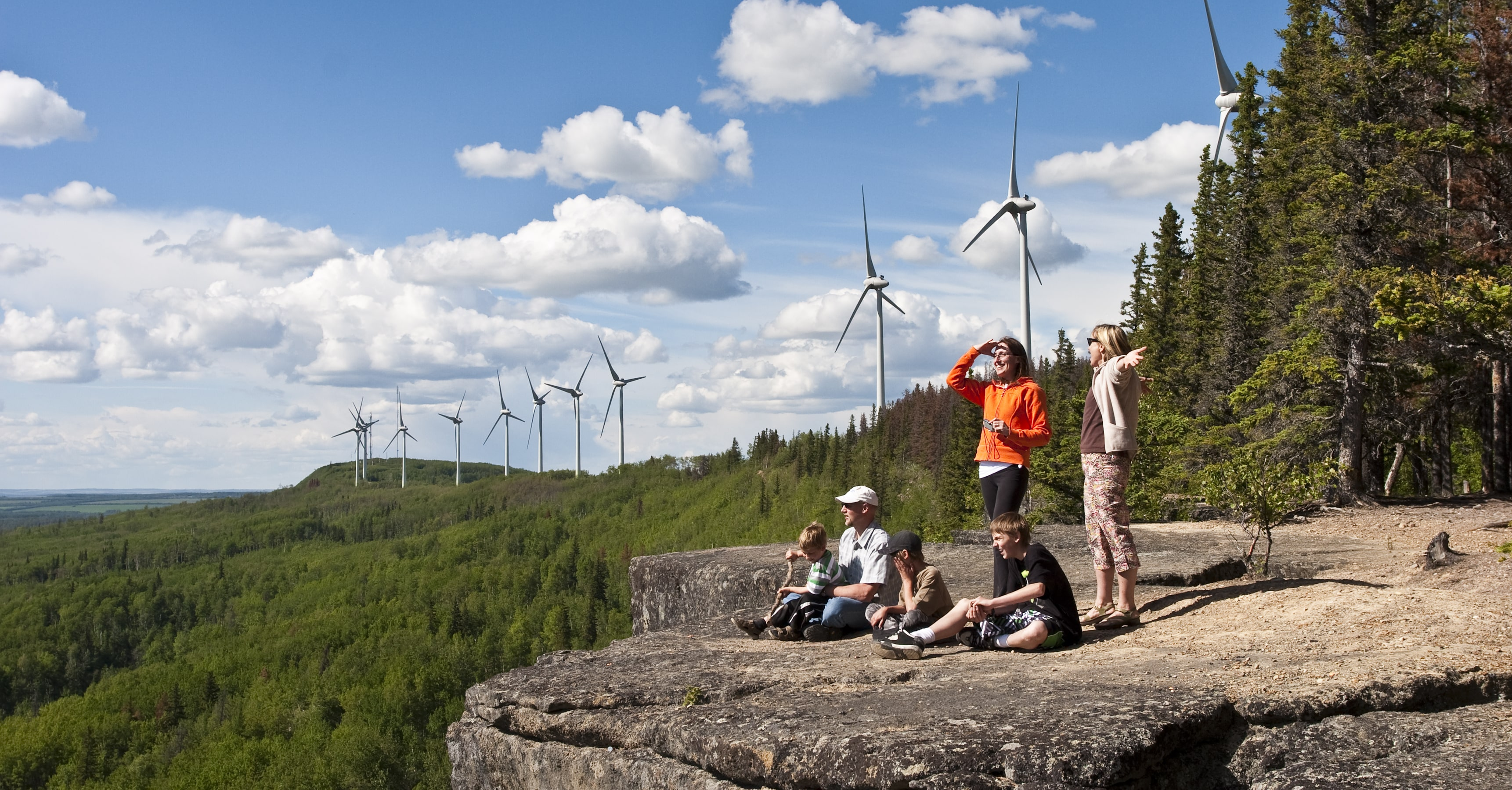 Bear Mountain Wind Turbine