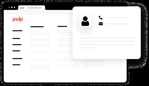Avec Pulp, vos clients restent vos clients ! Vous vous constituez une base de données qualifiée de vos clients qui commandent en click & collect. Vous pouvez les recontacter après, par email ou SMS, pour leur envoyer des offres, garder du lien avec eux…