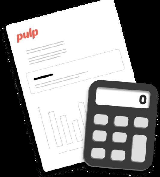 Avec Pulp, le bilan comptable est simplifié. Vous exportez toutes vos commandes à emporter à partir de votre caisse enregistreuse.