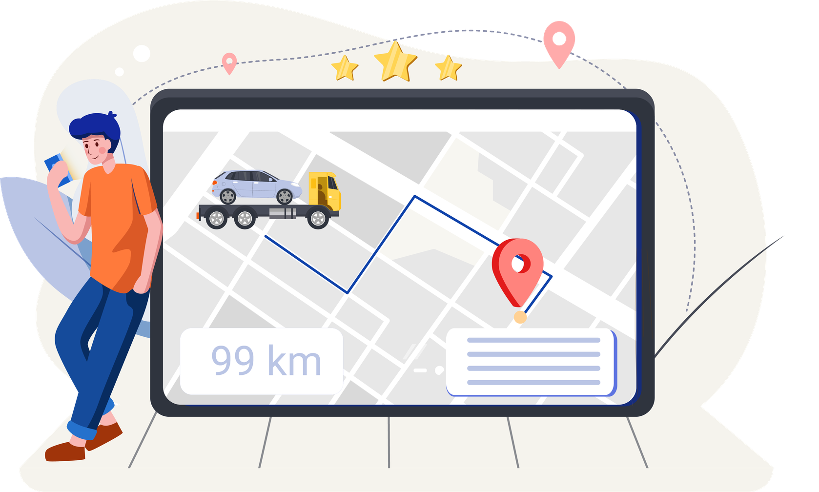 Screenshot von CarOnSale als Verkaufsplattform für Händlerfahrzeuge