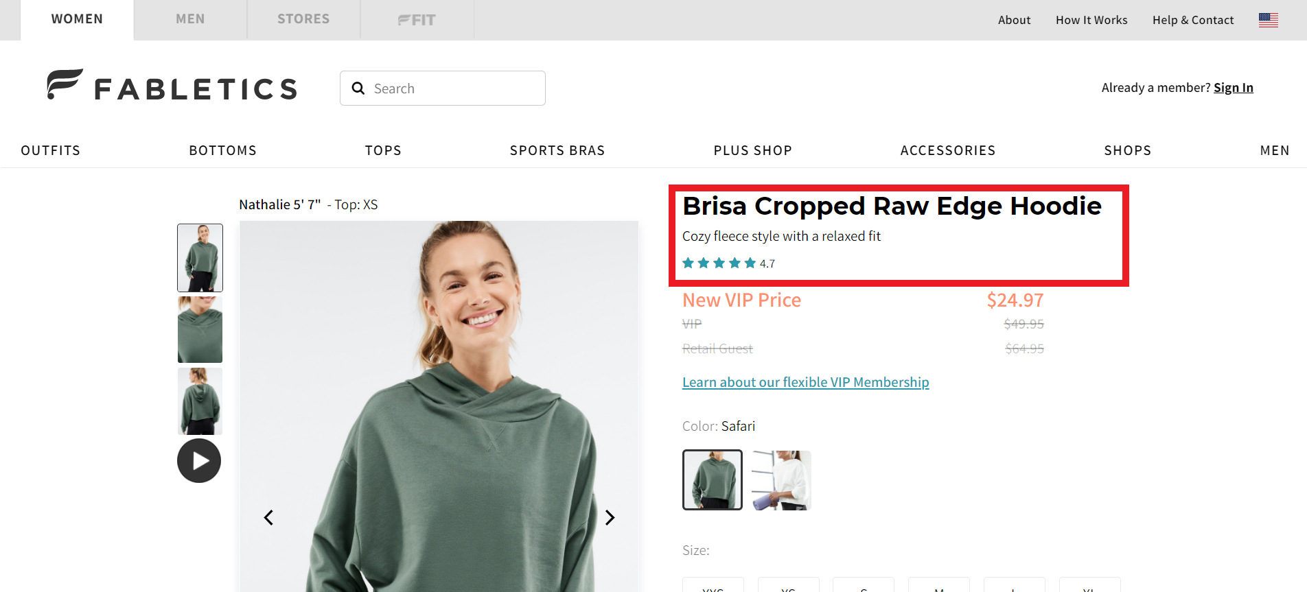 Product ratings can improve brand credibility and trust
