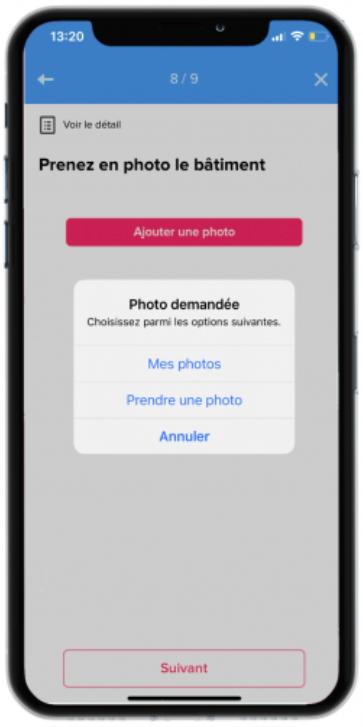 photographier nouveauté app mobile qomon