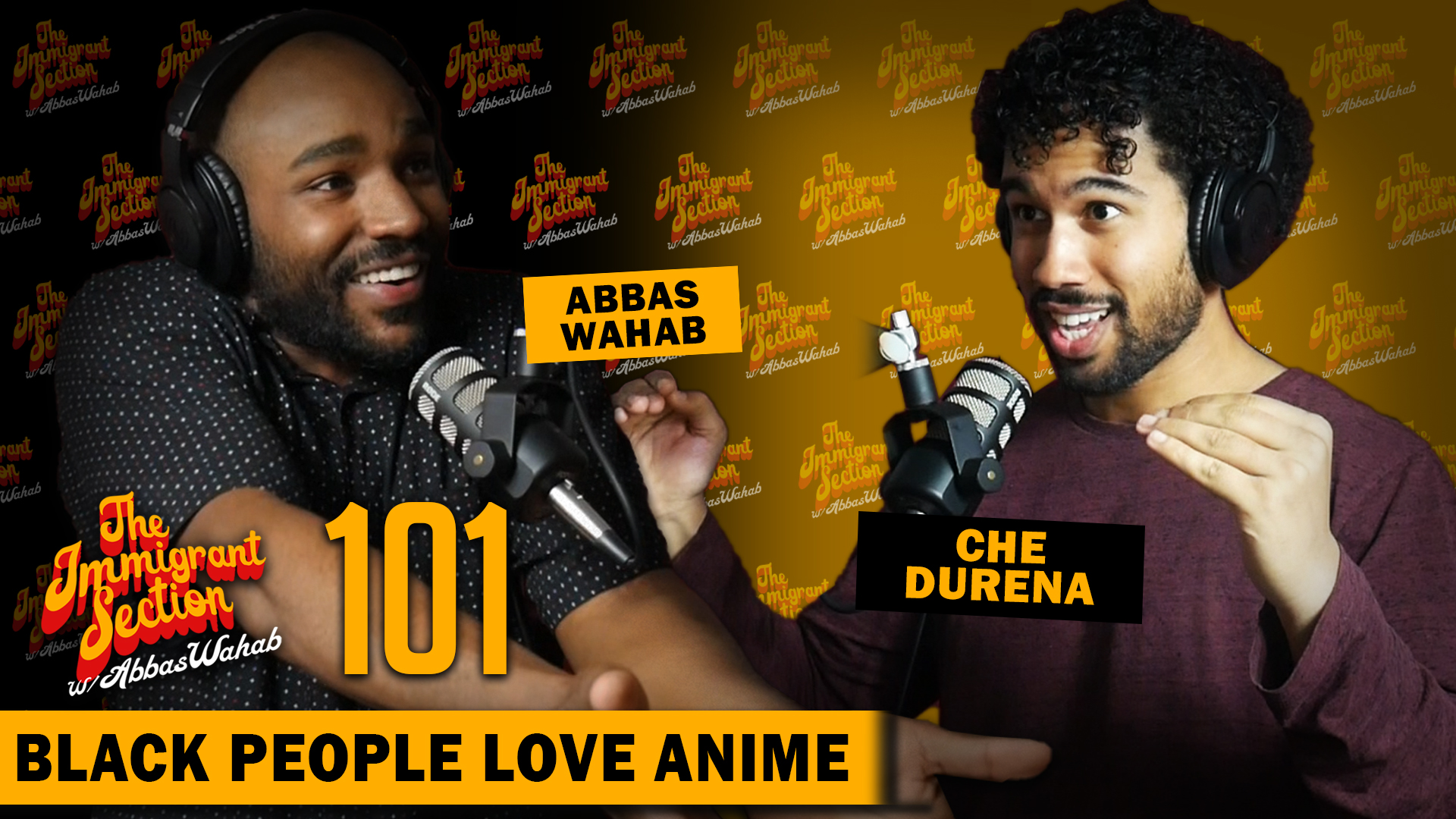 Black People Love Anime - The Immigrant Section with Abbas Wahab