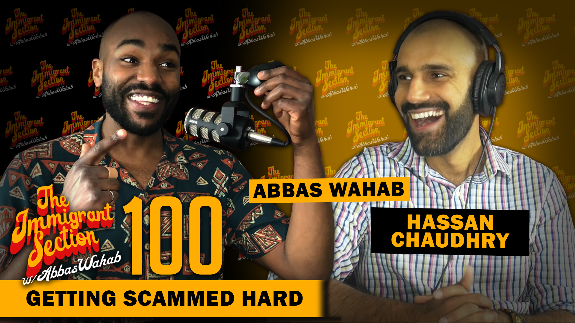 Getting Scammed Hard - The Immigrant Section with Abbas Wahab