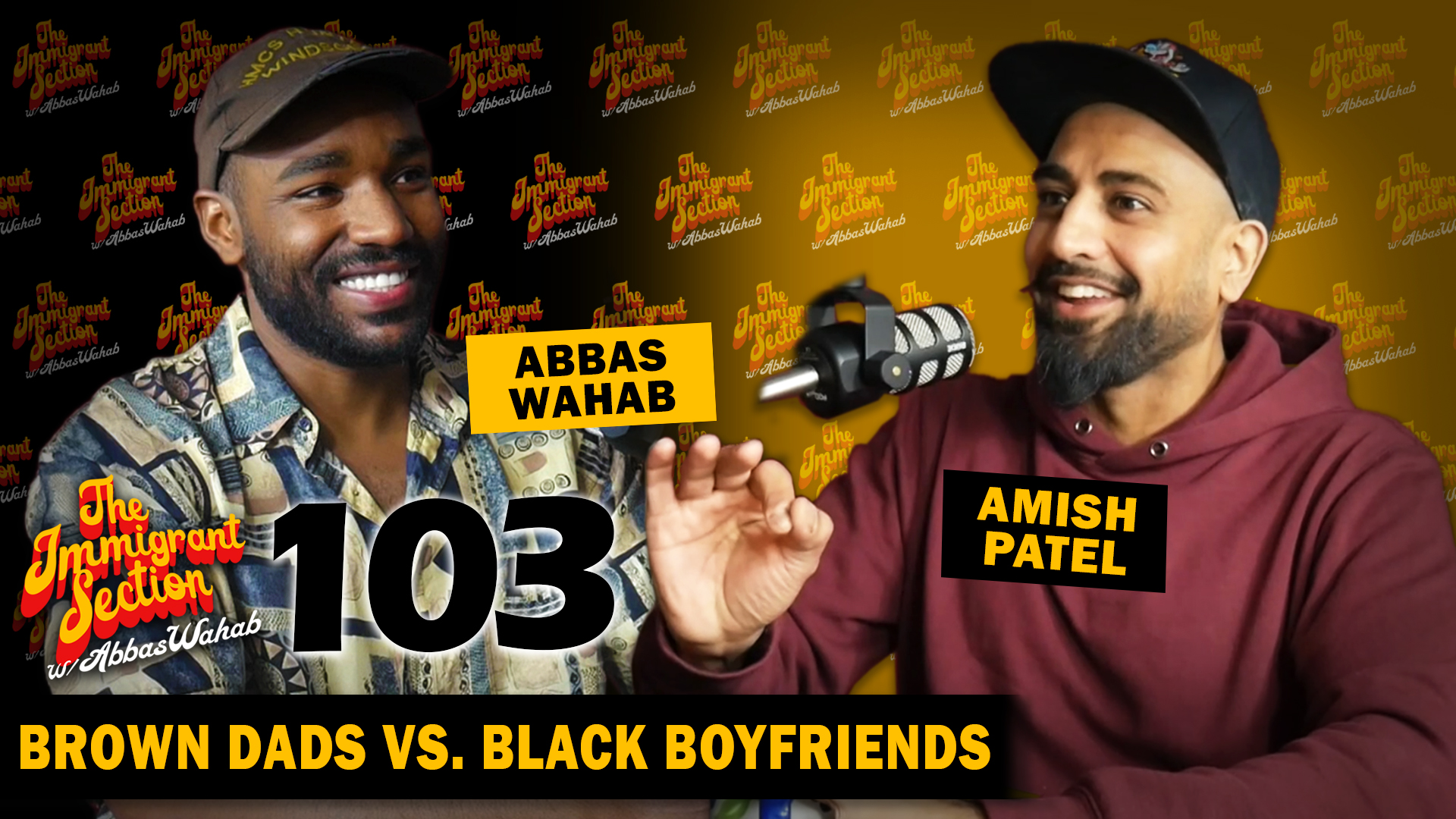Brown Dads vs. Black Boyfriends - The Immigrant Section with Abbas Wahab