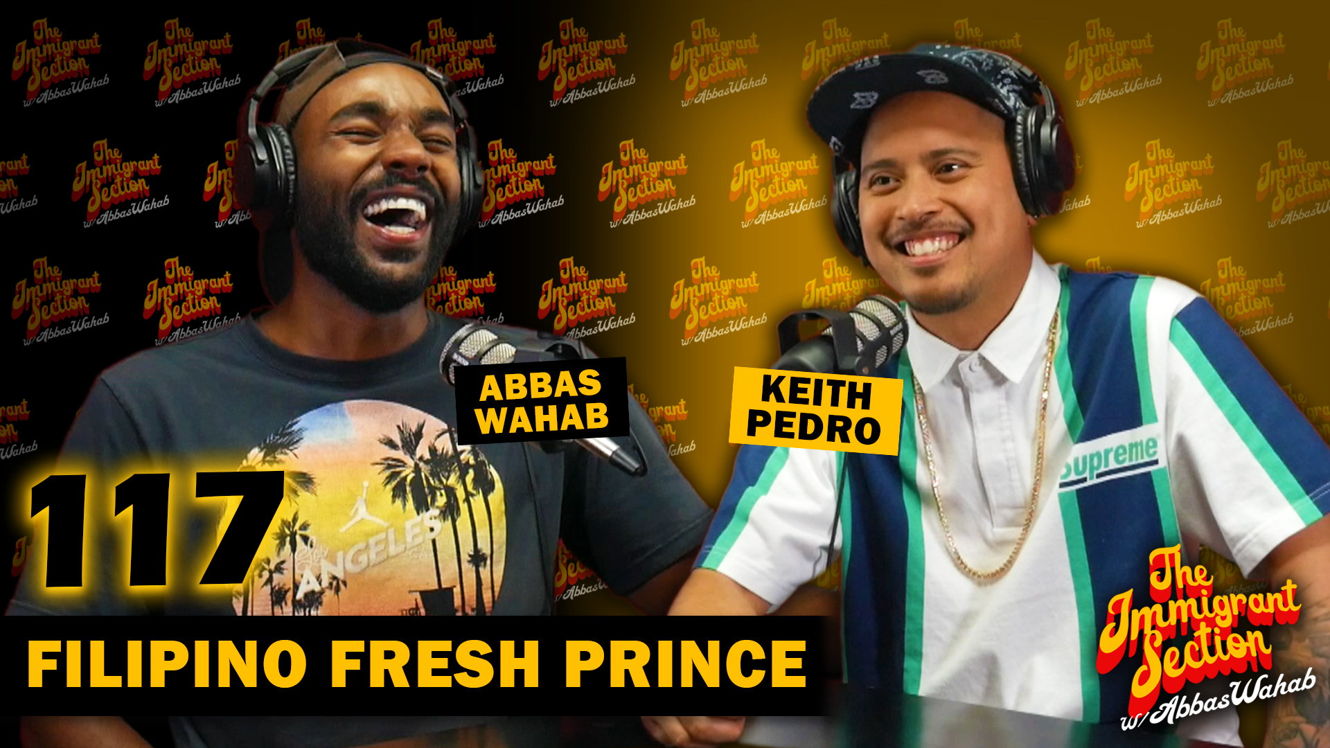 Filipino Fresh Prince | The Immigrant Section with Abbas Wahab
