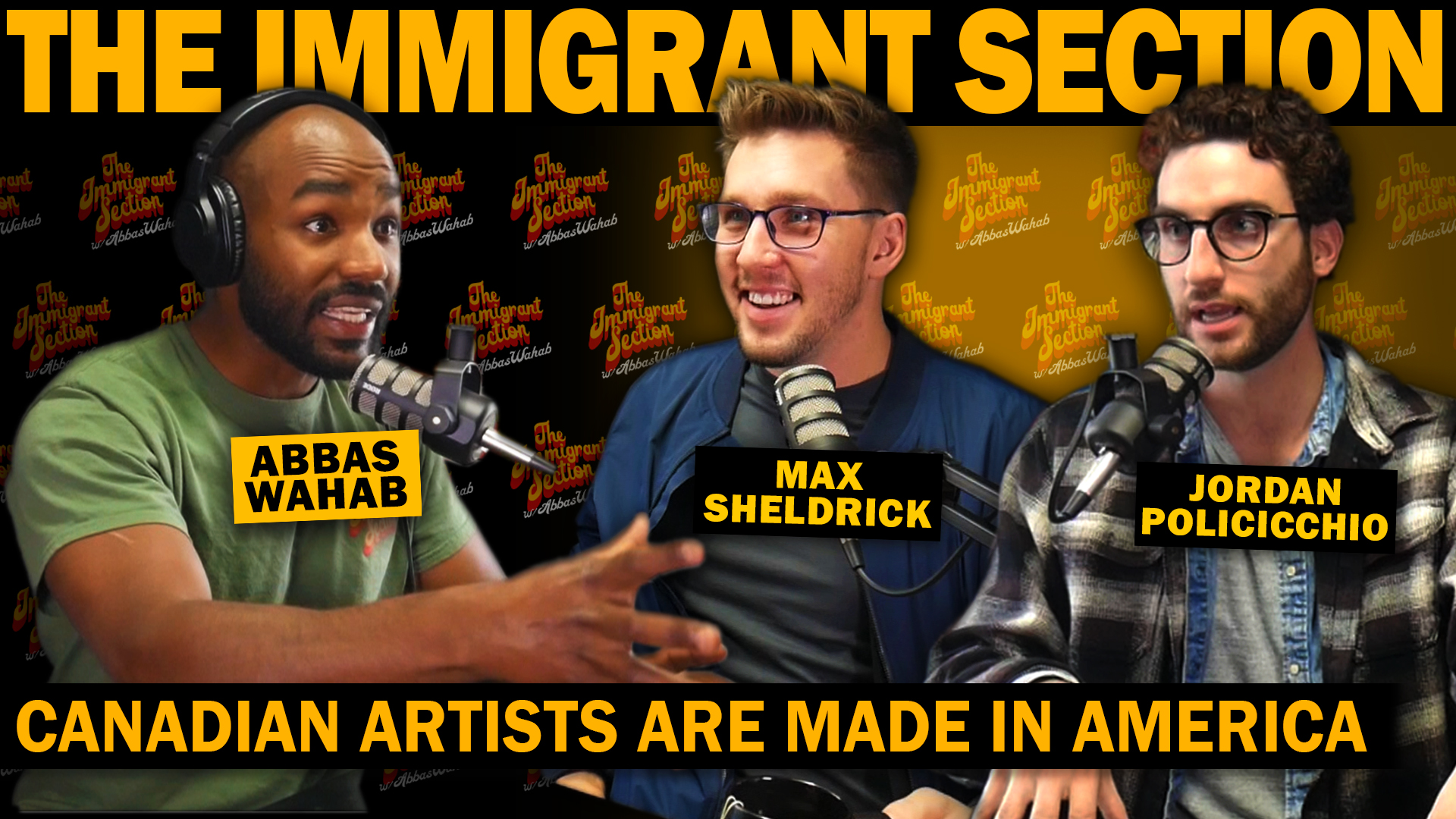 Canadian Artists Are Made in America | The Immigrant Section with Abbas Wahab - 124