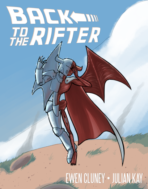 """Cover of """"Back to the Rifter."""""""