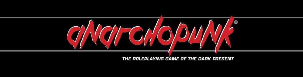 Anarchopunk 2020: The Roleplaying Game of the Dark Present