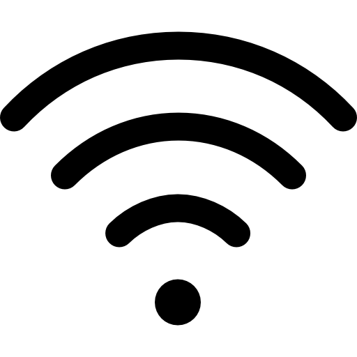 The WiFi symbol, representing Lesly's ability to save users money of internet providers.