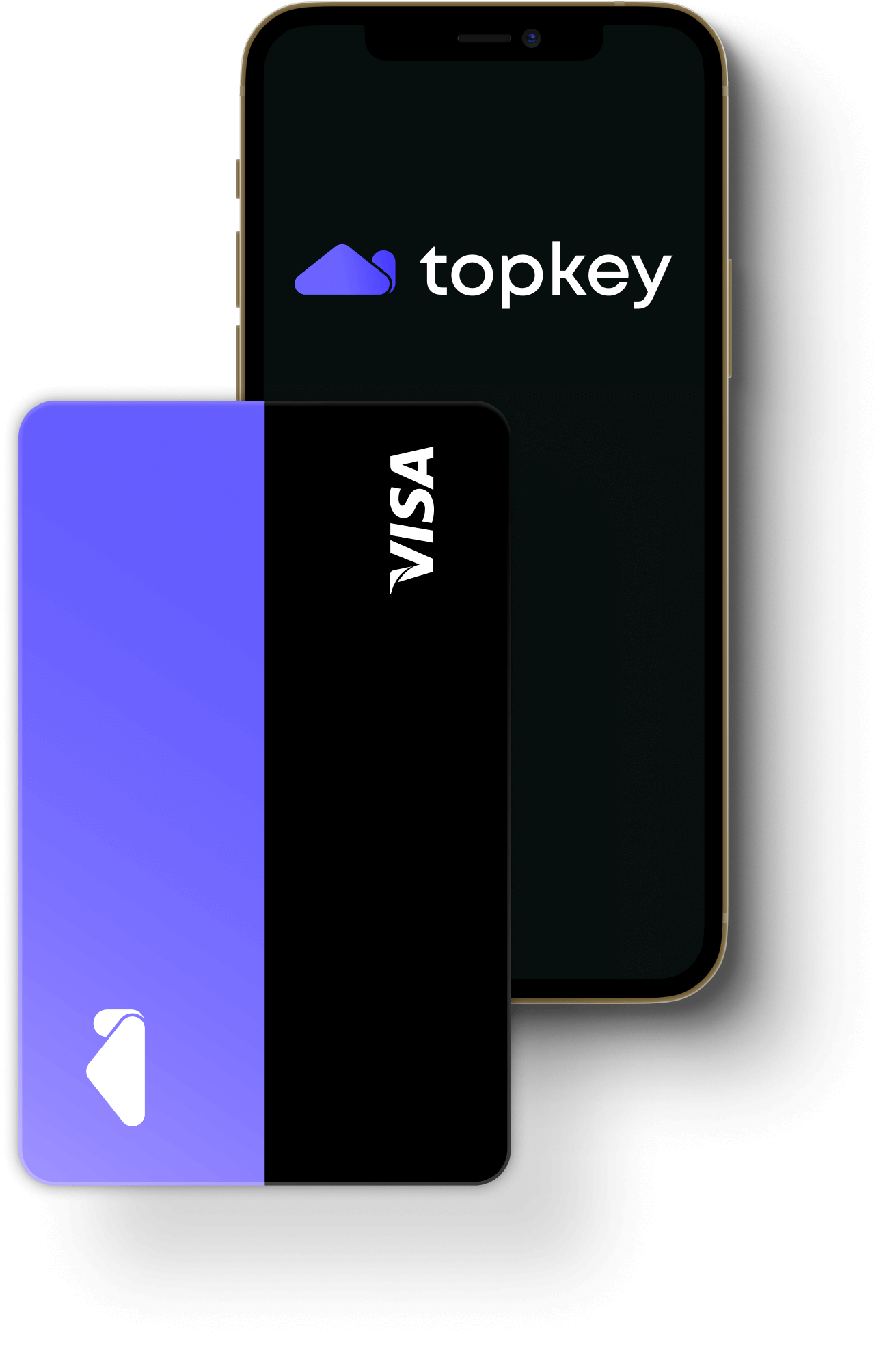 Topkey card and mobile app