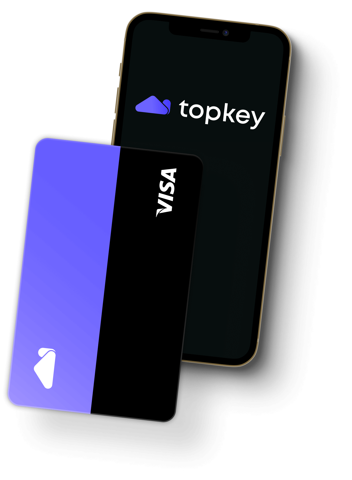 Topkey_card+mobile_app