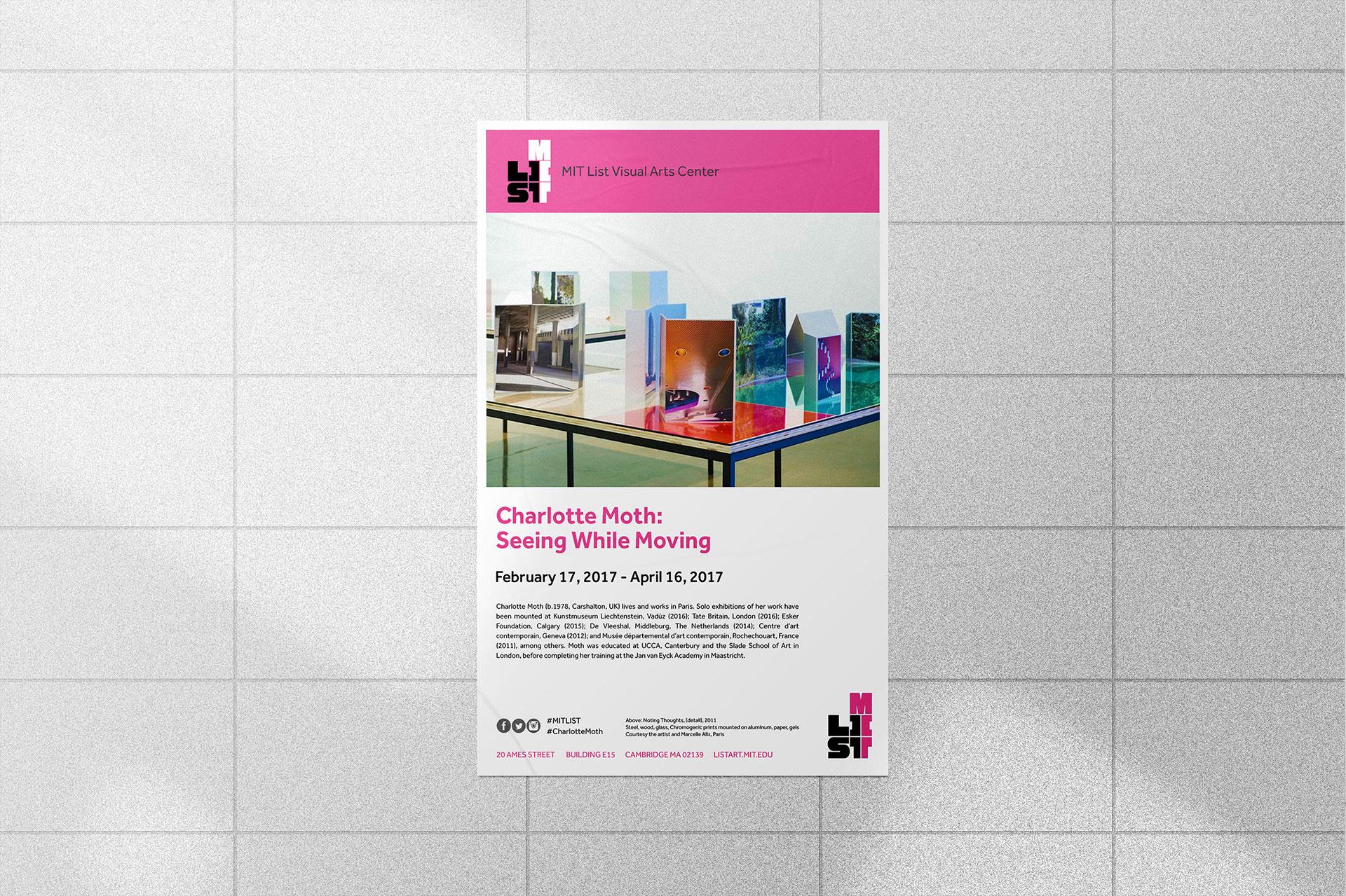 MIT List Visual Arts Center Poster