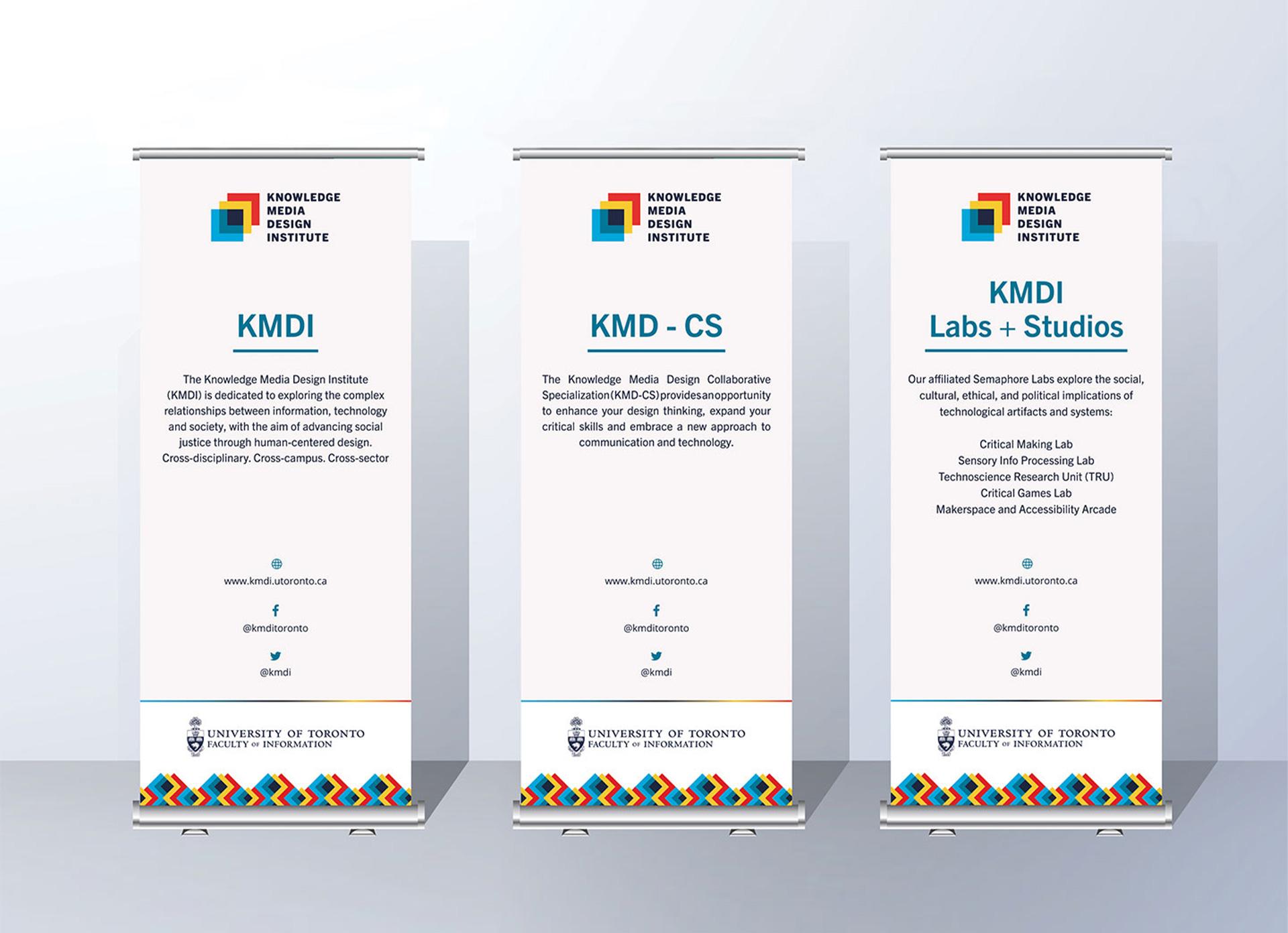 KMDI physical banners