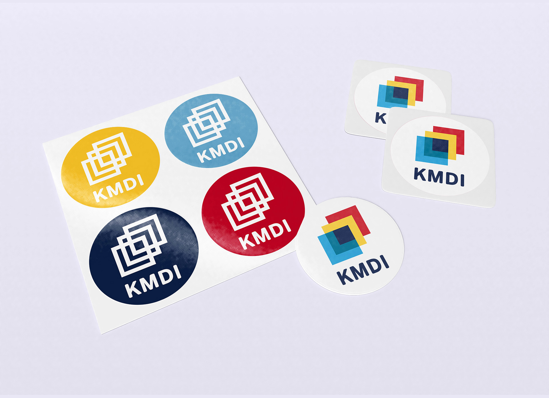 KMDI stickers