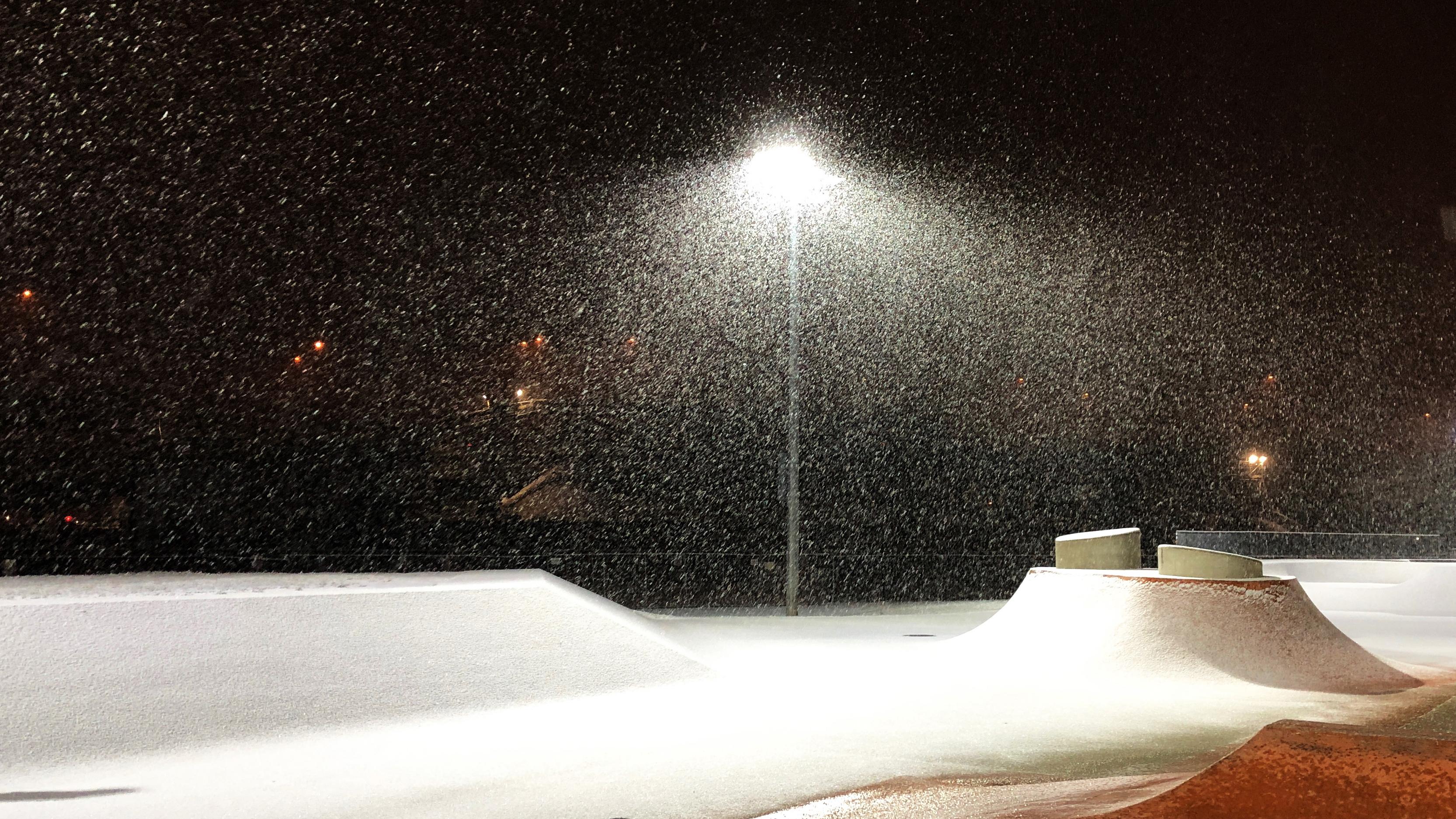 Photo - Snowing Boston