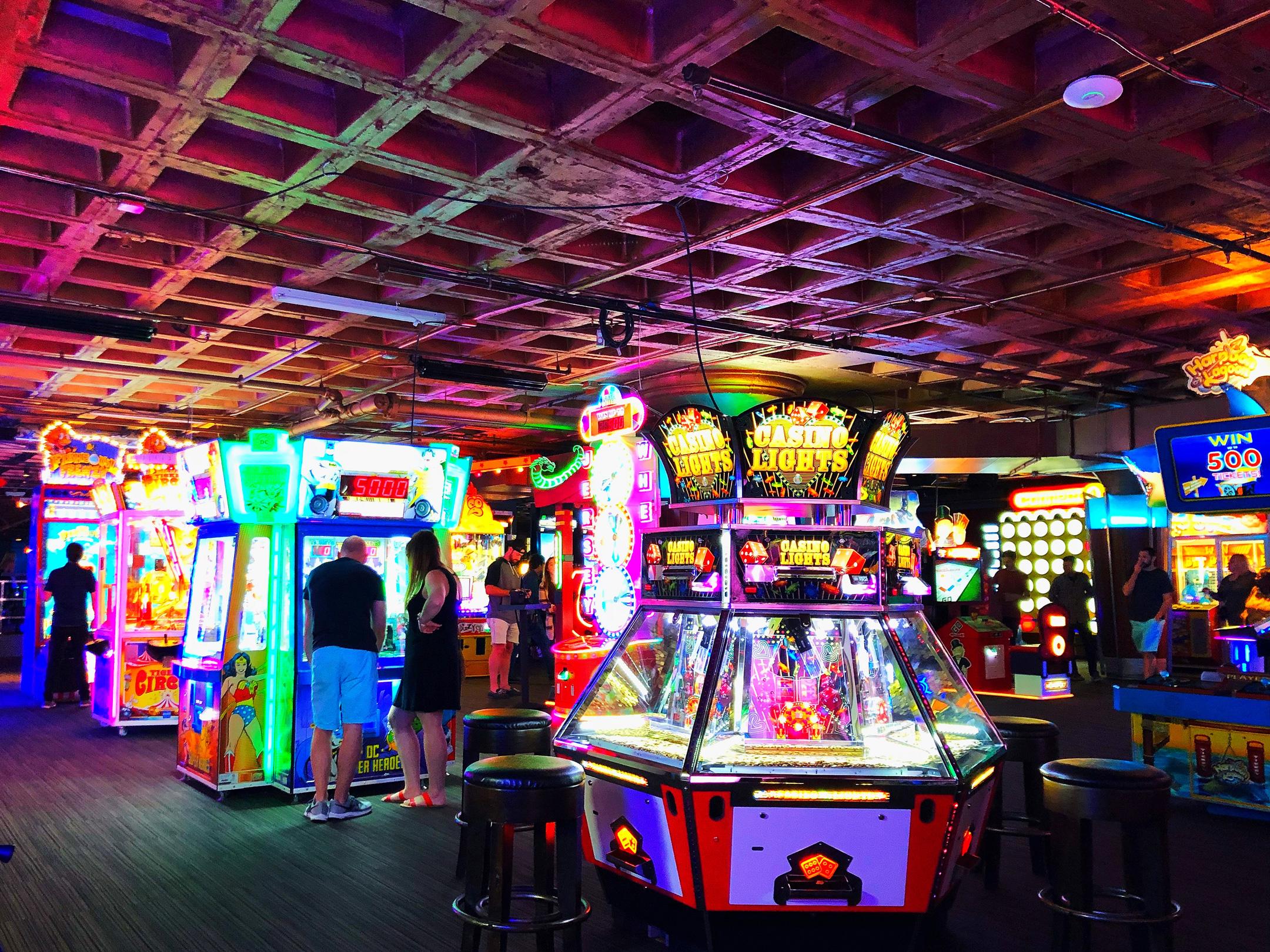 Photo - Arcade in Boston