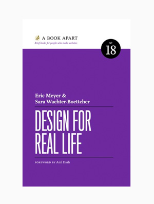 Design for real life book cover