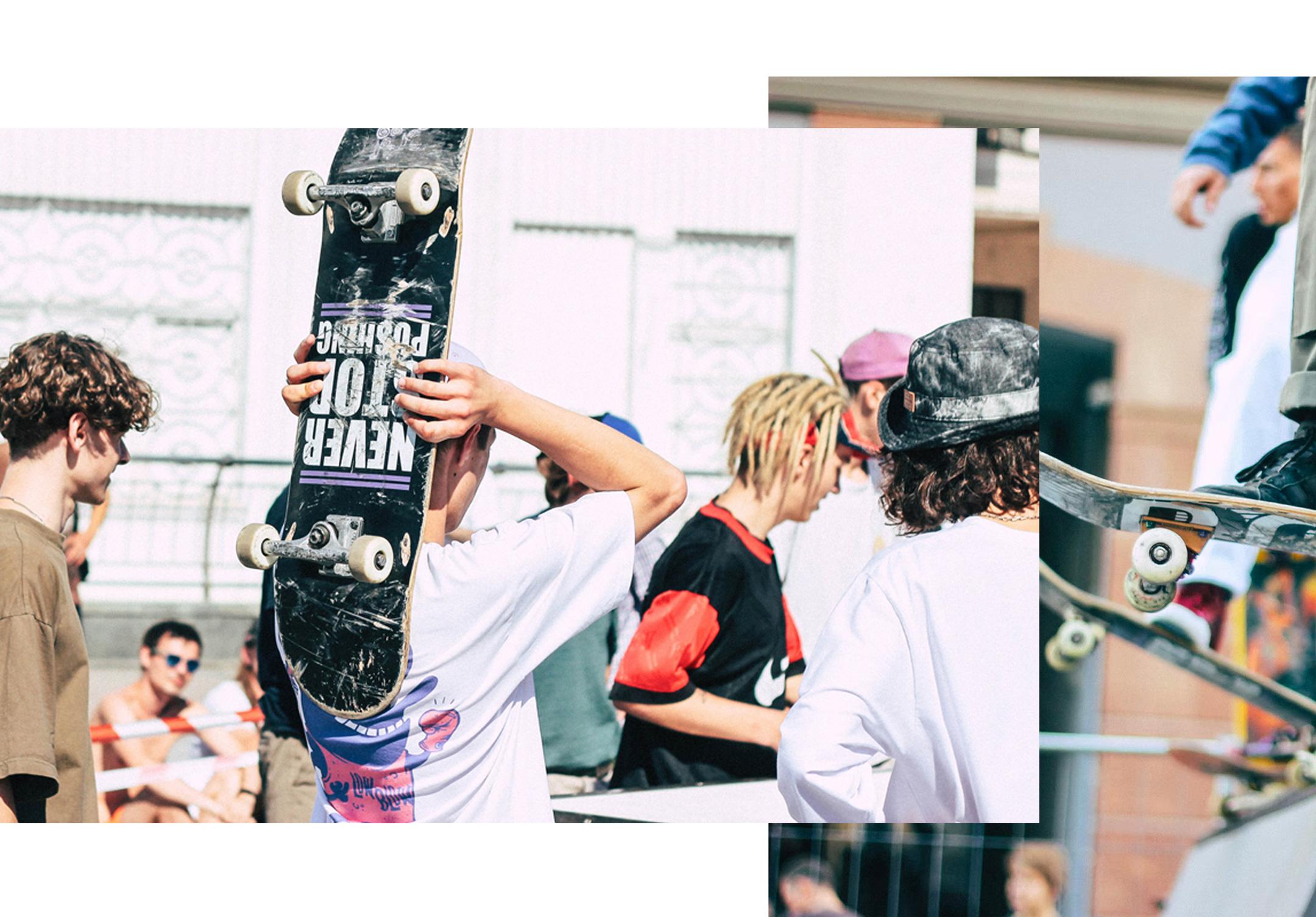 Skateboarding groups