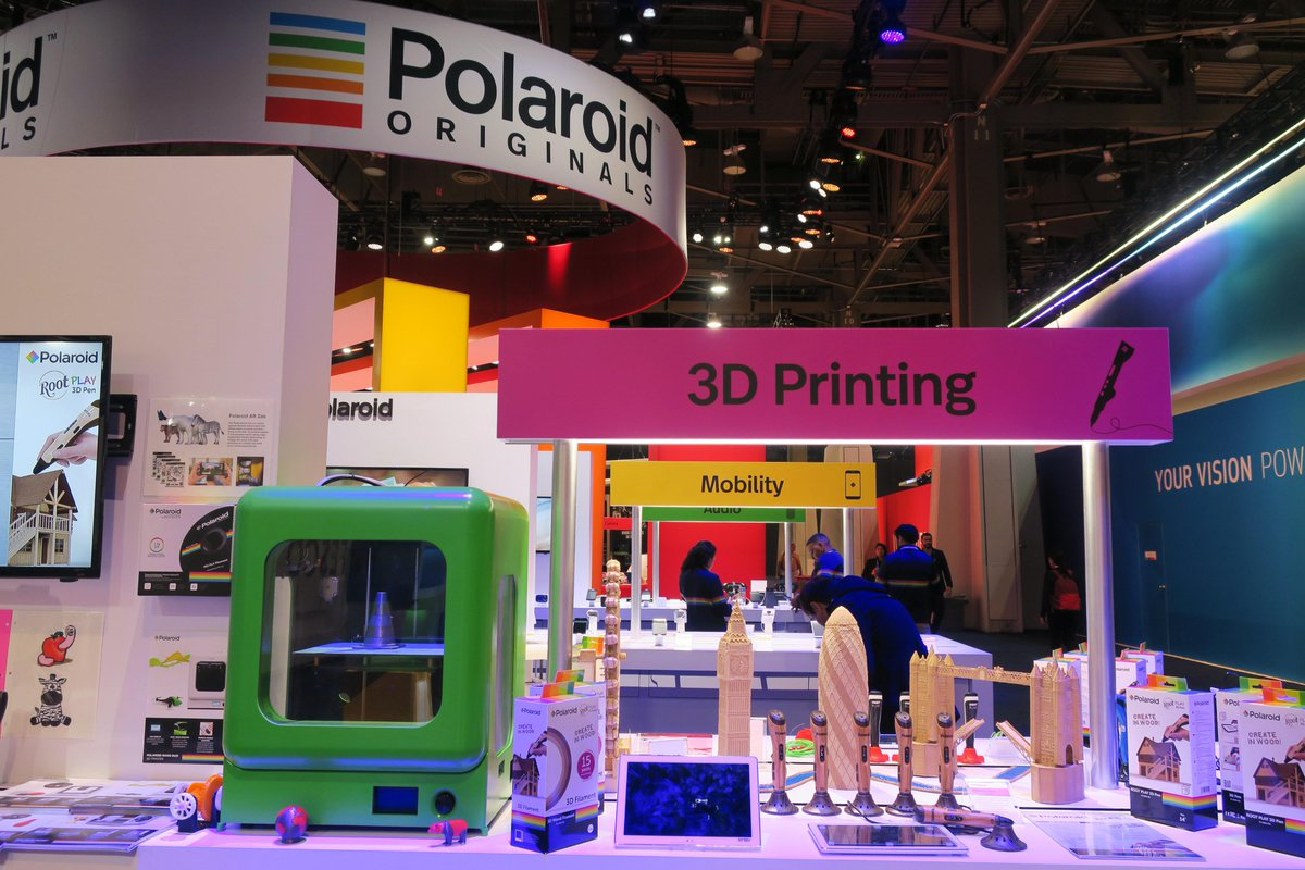 Polaroid at CES 2018