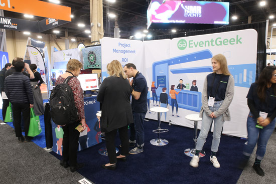 eventgeek as a trade show exhibitor at ExhibitorLive19
