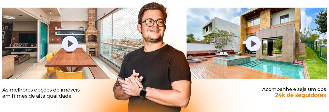 Elihu Imóveis no Youtube. Um dos maiores canais imobiliários do Brasil.