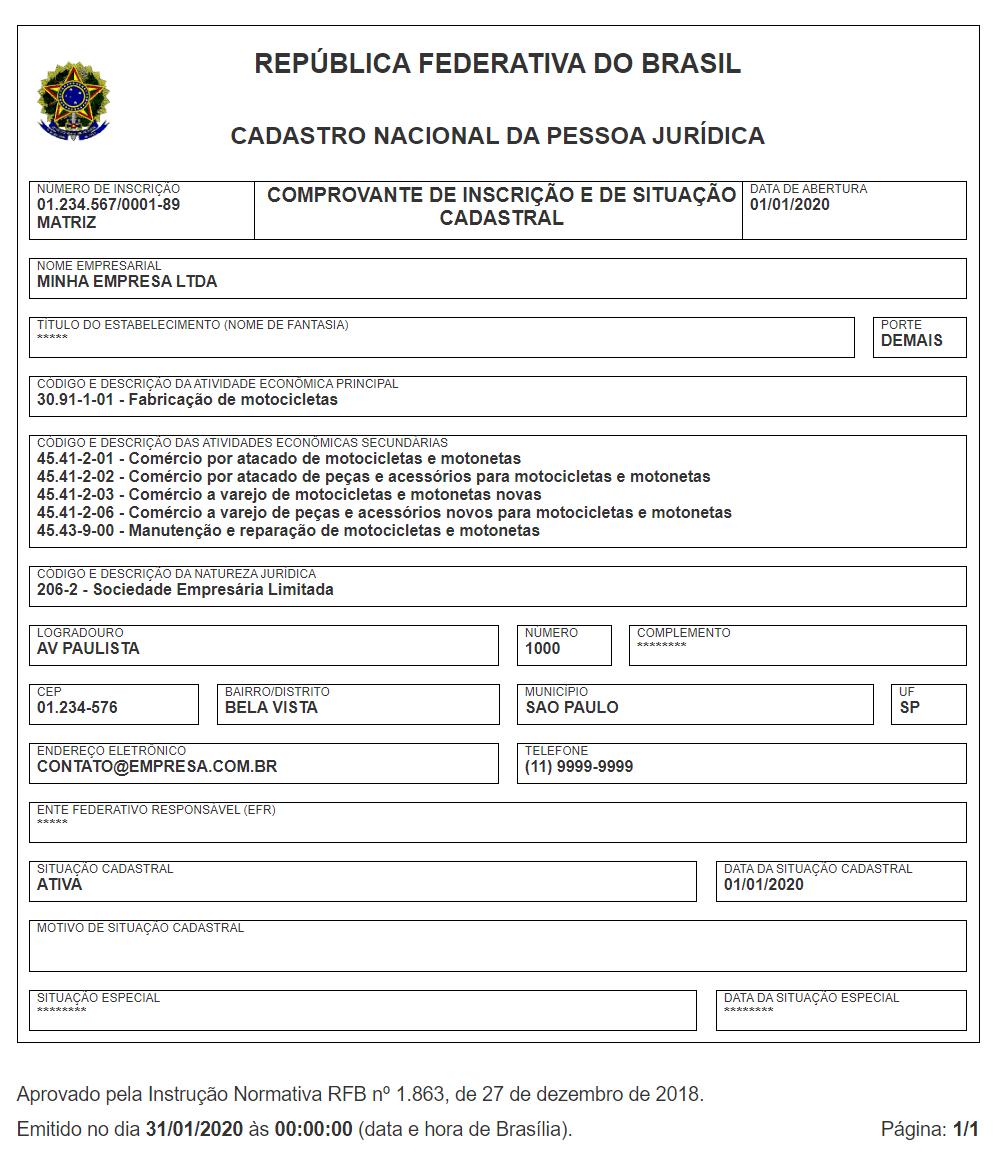 rfb registration certificate