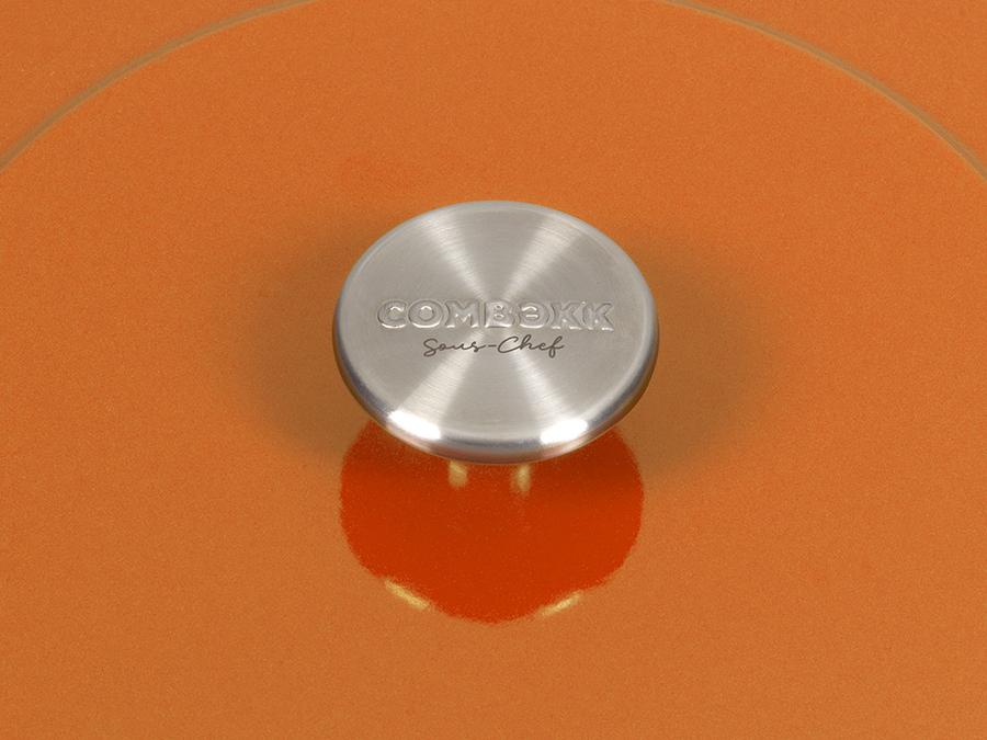Sous-Chef Dutch Oven Orange 24 CM