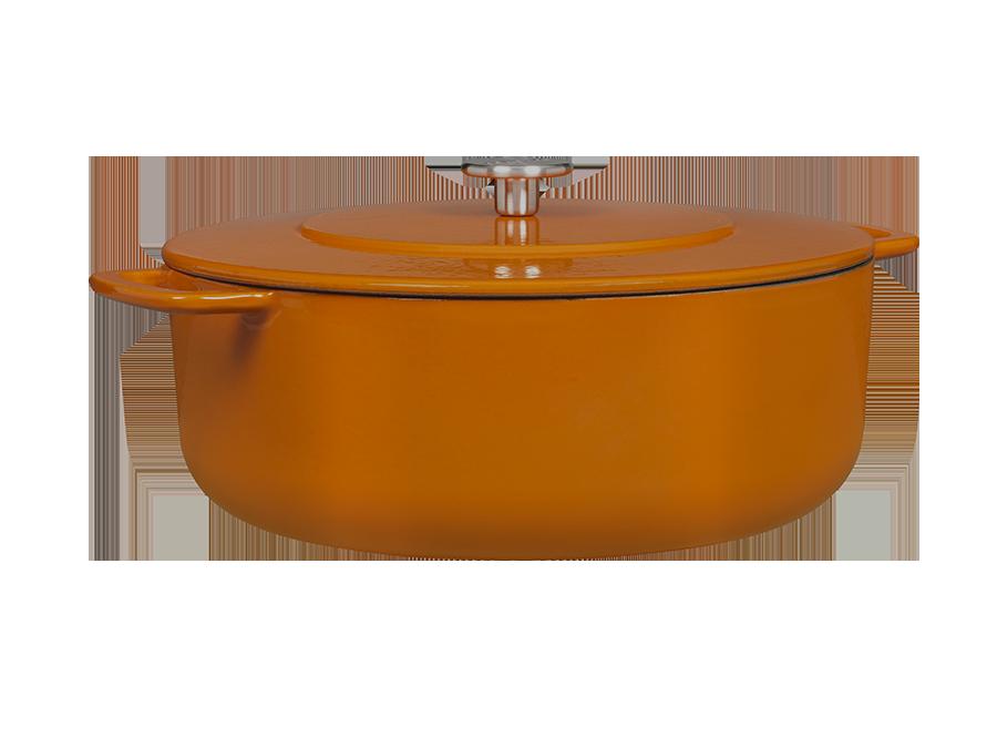 Sous-Chef Dutch Oven Orange 28 CM