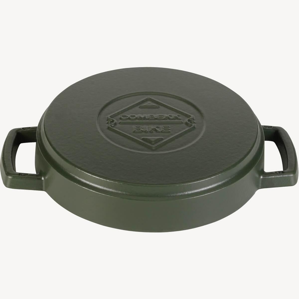 Fry Pan Double Handle Green 24CM