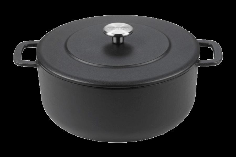 Sous-Chef Dutch Oven Black 24 CM