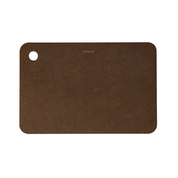Recycled paper cutting board brown 20 x 30